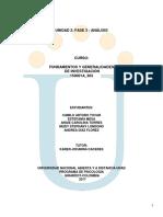 Unidad 2 fase 3 Análisis (Trabajo colaborativo..