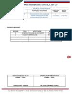 PE-OP-CIS-004 Procedimiento para Cambio de Compresor a Equipo Minisplit