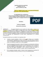 Ley Trabajo Marítimo Panamá 1998