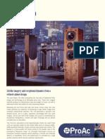 ProAc Studio 150 Leaflet