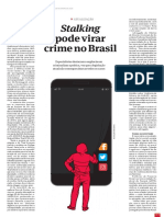Stalking pode virar crime no Brasil