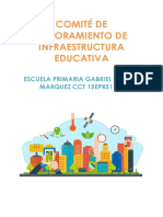 COMITÉ DE MEJORAMIENTO DE INFRAESTRUCTURA EDUCATIVA