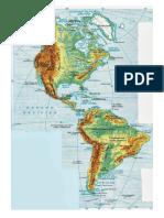 mapa hidrografico
