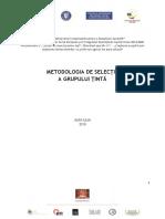 Metodologie-selectie-grup-tinta