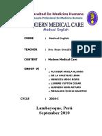 Group Vi Modern Medical Care