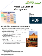 Early Management