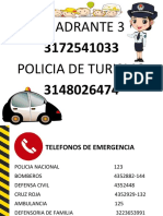 NUMEROS TELEFONOS EMERGENCIA