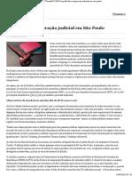 0 O perfil da recuperação judicial em São Paulo