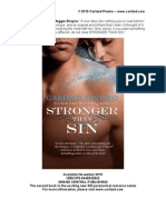 Paranormal Romance Stronger Than Sin Jesse Meets Liliana Excerpt
