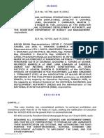 G.R. Nos. 167798 & 167930 - Kilusang Mayo Uno v. Director-General