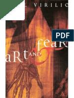 Virilio Art and Fear