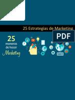 25 Estrategias de Marketing