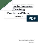 A Course in Language teaching TP MODULE 1