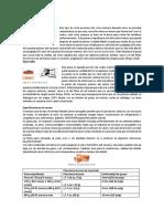 ESPECIFICACION DE PRODUCTO FINAL DE CORTES