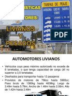 clases y tipos de vehiculos