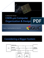 CSEN 402 - Ch5 Exploiting Memory Hierarchy_4749