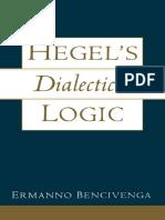 Bencivenga, E. - Hegel_s Dialectical Logic (Oxford University Press, 2000).pdf