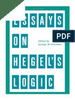 Di Giovanni, G. (ed.) - Essays on Hegel_s Logic (State University of New York Press, 1990)