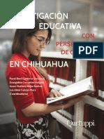 Investigación educativa con perspectiva de género en Chihuahua
