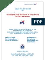 Tvs Motors Project