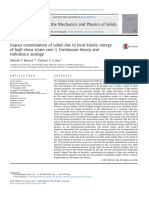 Impact-comminution-of-solids-due-to-local-kinetic-energy-of-high-shear-strain-rate-I-Continuum-theory-and-turbulence-analogy_2014_Journal-of-the-Mecha