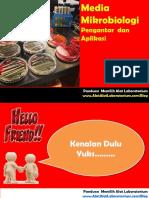 Media mikrobiology pengantar dan aplikasi