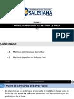 4.1. Matriz de Impedancia y Admitancia de Barra