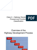 Functional classification of roads