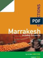 Marocco - MARRAKESH Rough Guide Directions