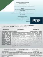 Los programas de español e historia en educación básica