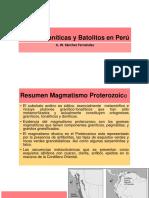 9 - Rocas Graníticas y Batolitos en Perú GdP 2018-2.pptx