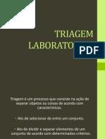 4- TRIAGEM LABORATORIAL