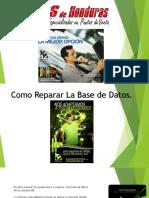 Reparacion De Base De Datos