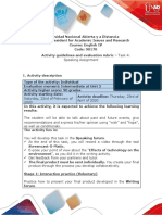 Activity guide and evaluation rubric - Task 4 - Speaking assignment - Synchronous meeting.pdf