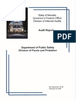 Parole and Probation Audit