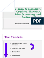 business idea generation process
