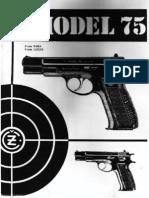 Cz 75 Armourer Manual