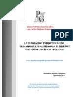 LA PLANEACION ESTRATEGICA UNA HERRAMIENTA DE GOBIERNO EN EL DISEÑO Y GESTIÓN DE PP.pdf