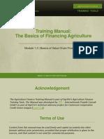 1.3 Basics of Value Chain Financing-v1