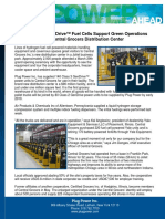 Plug Power GenDrive™ Fuel Cells Support Green Operations