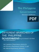 three branches philippine government