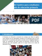 Aprendizaje del Ajedrez para Estudiantes de Primaria VF 20ener17.pptx