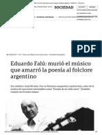 Eduardo Falú_ murió el músico que amarró la poesía al folclore argentino - 10_08_2013 - Clarín.com