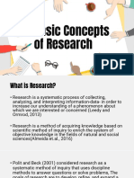 L1 - Basic Concepts of Research