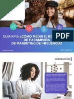 ES- e-book - ¿Cómo medir el rendimiento de tus campañas de marketing de influencia_