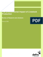 The Environmental Impact of Livestock