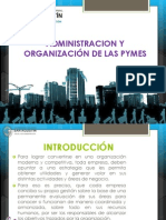 administracion y organizacion de las pymes