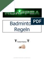 BadmintonRegel