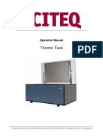Thermo Tank - Manual