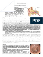 3. Otitis media y externa